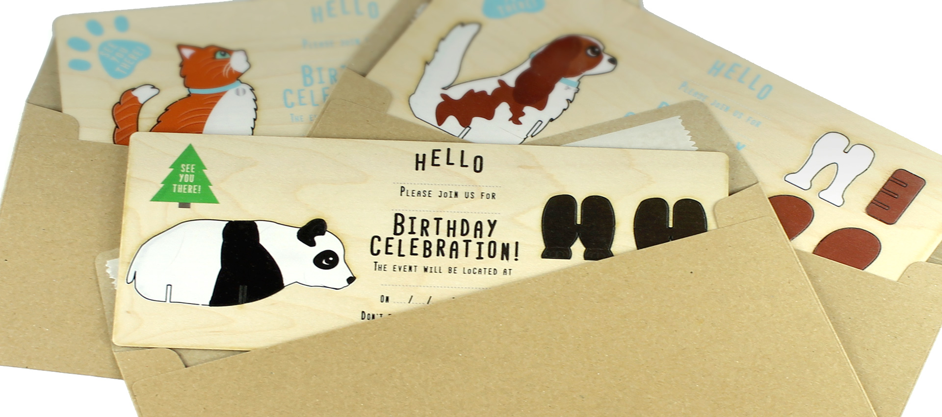 WoodenVites - Party Invitations with a difference